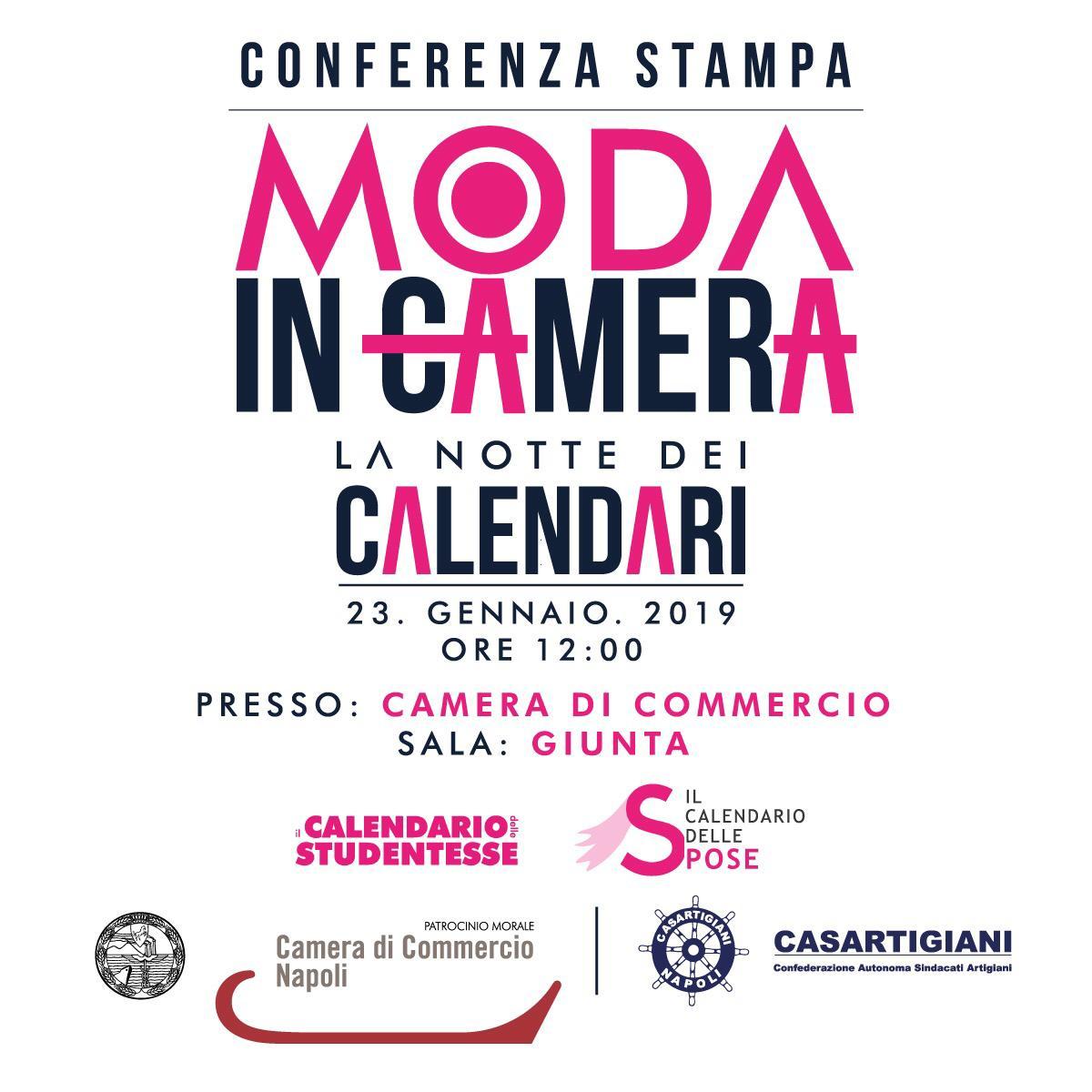 Camera Moda Calendario.Moda In Camera La Notte Dei Calendari Per Eventi