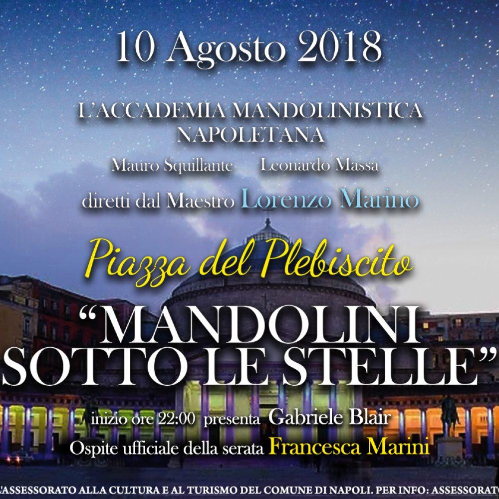 Mandolini sotto le stelle 2018