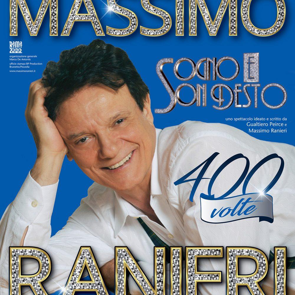 Sogno e son desto 400 volte – Massimo Ranieri in scena al Teatro Augusteo