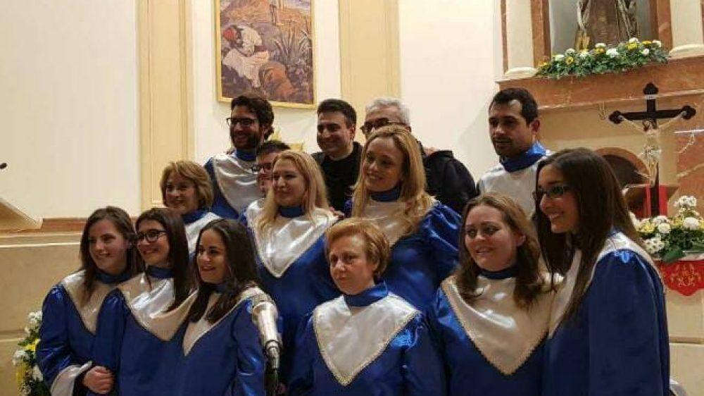 Alla parrocchia di San Ciro a Frattamaggiore con la Corale Santa Caterina Volpicelli