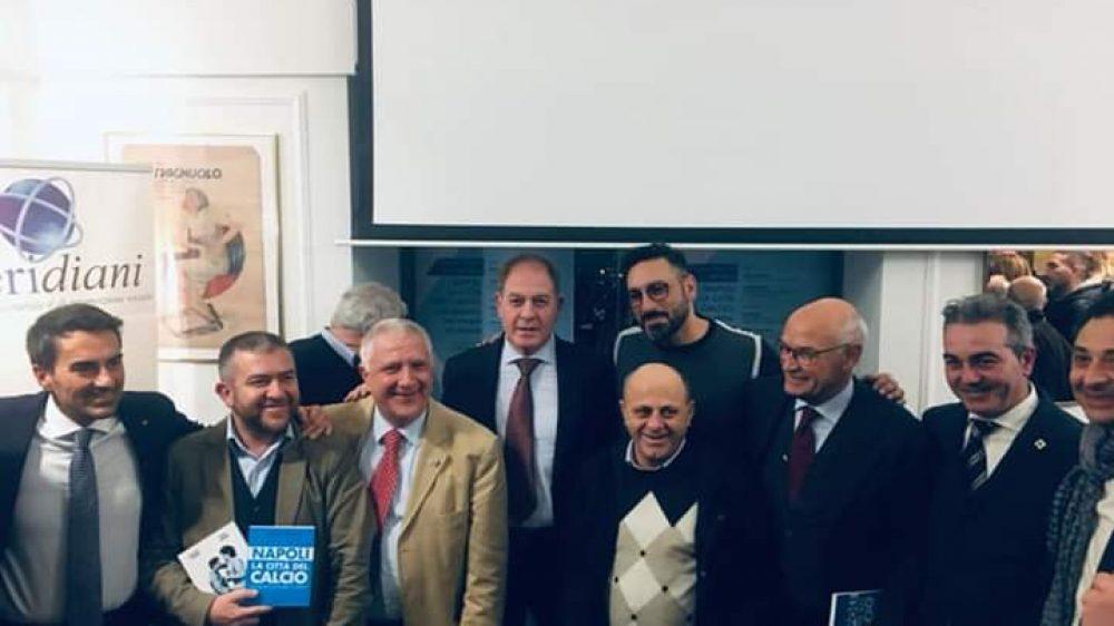 """Grande consenso per la presentazione del libro """"Napoli la Città del Calcio"""""""