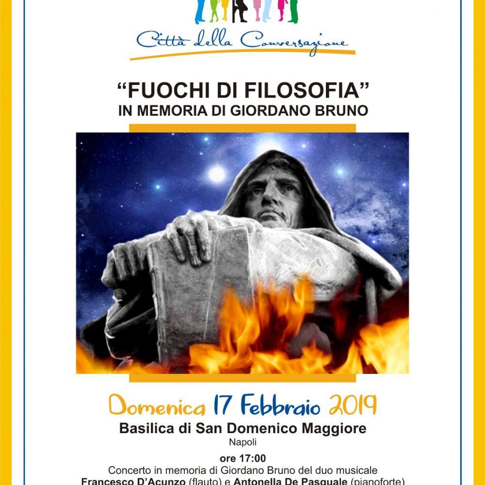 Alla Basilica di San Domenico Maggiore con I Fuochi della Filosofia