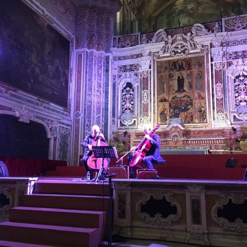 """Alla Chiesa di Santa Maria Donnaregina Nuova continua il successo per la rassegna """"Sacro Sud Anime Salve""""."""