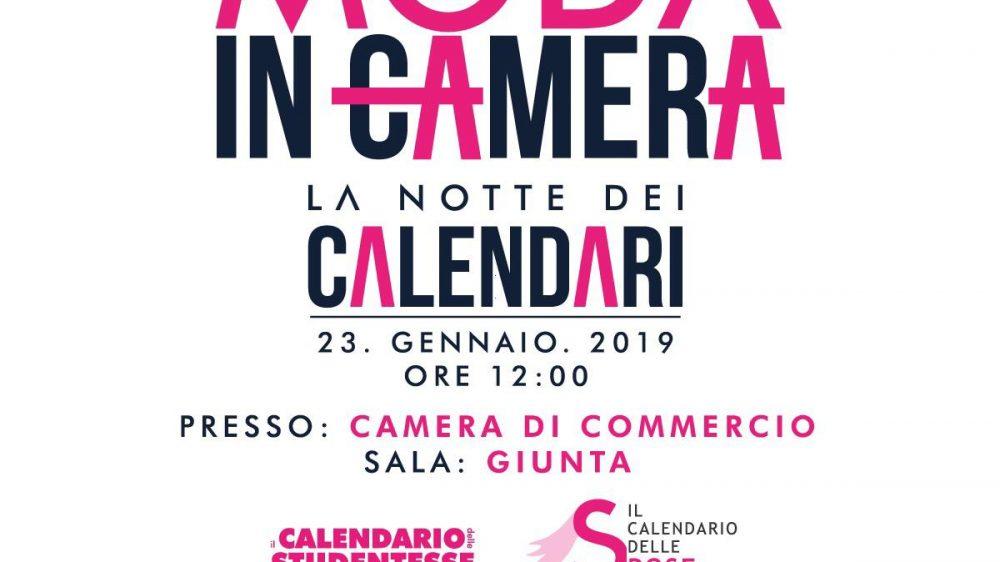 Moda in Camera – La notte dei calendari