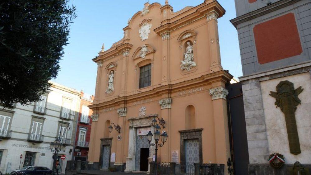 """Alla Basilica di """"San Sossio Levita e Martire con il I° Concerto per Durante."""