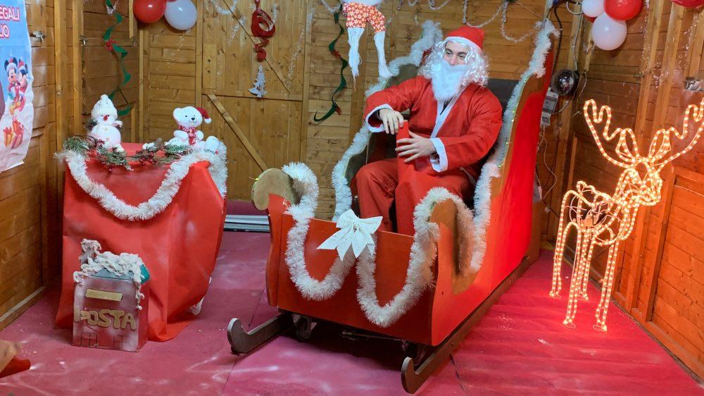 Frattamaggiore: grande successo per il villaggio di Babbo Natale