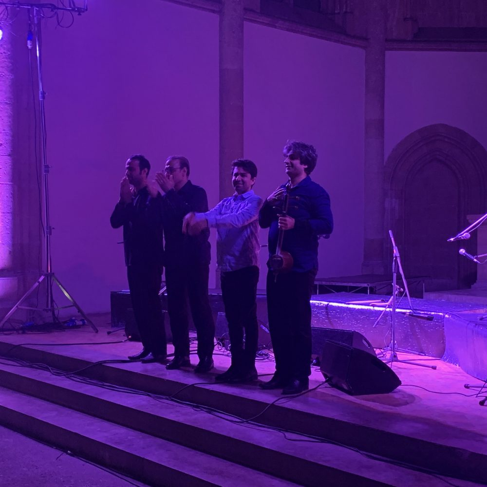 """Il concerto di Alireza Ghorbani """"Lost in Love… Persian love songs"""", che prende il titolo dal suo album del 2015, ha fatto scalpore alla chiesa di Santa Maria Donnaregina Vecchia"""
