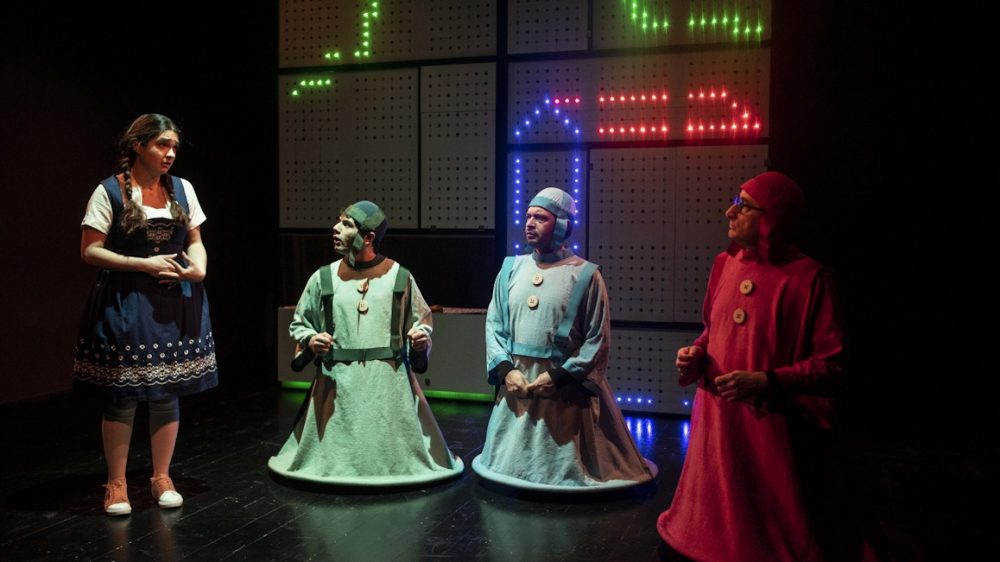 Mutamenti presenta BIANCA, NEVE E I TRE SETTENANI