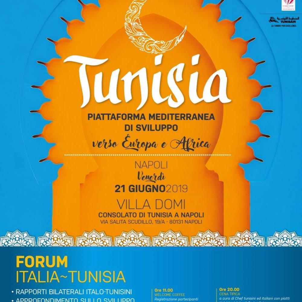 TUNISIA…NAPOLI… Una notte magica da raffinata fiaba