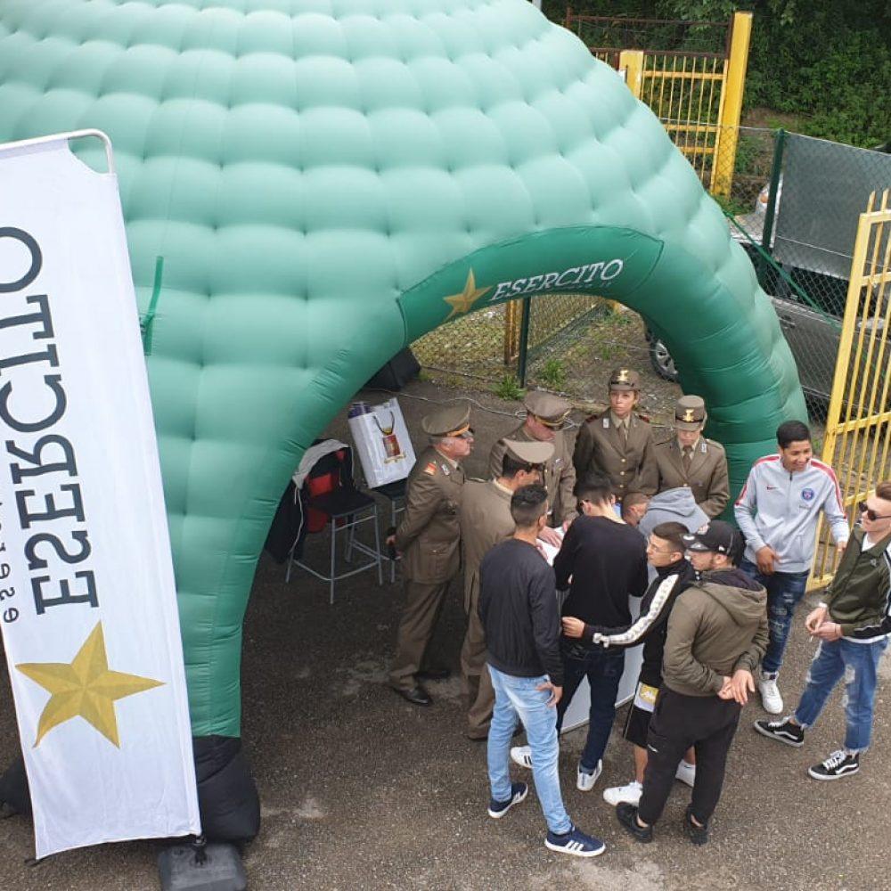"""Esercito e studenti alla """"Festa dello Sport"""""""
