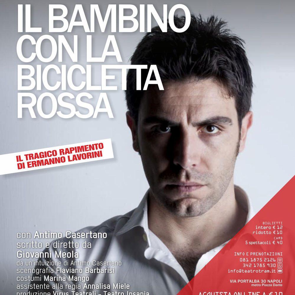 """GRANDE ATTESA PER """"Il BAMBINO con la BICICLETTA ROSSA"""""""