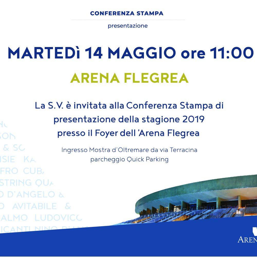 Presentazione della stagione 2019 dell'Arena Flegrea