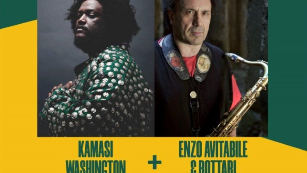 ENZO AVITABILE & BOTTARI KAMASI WASHINGTON DOUBLE BILL