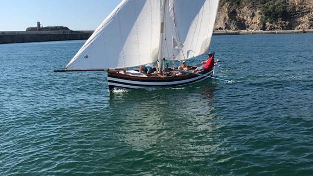 Operazione Quandel: navigazione a vela latina lungo costa da Monte di Procida a Gaeta