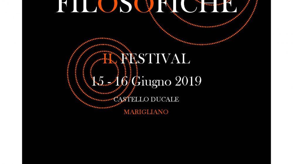 """Alza il sipario sulla seconda edizione del Festival """"Risonanze Filosofiche"""""""