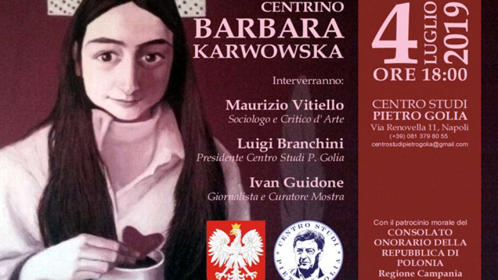 """Il 4 Luglio 2019 a Napoli, """"Le Fiabe Del Centrino"""", la personale di Barbara Karwowska"""