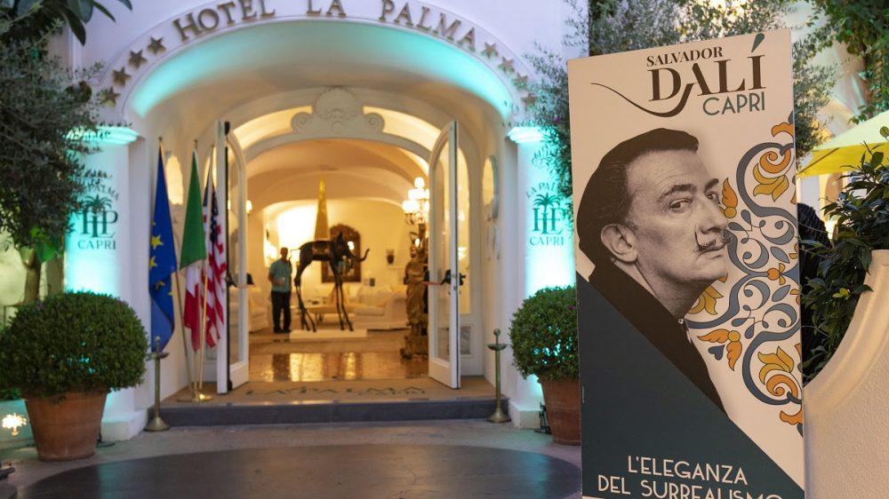 Capri: la notte di Dalì. Le opere del maestro catalano tra lirica e moda sulla terrazza dell'Hotel La Palma