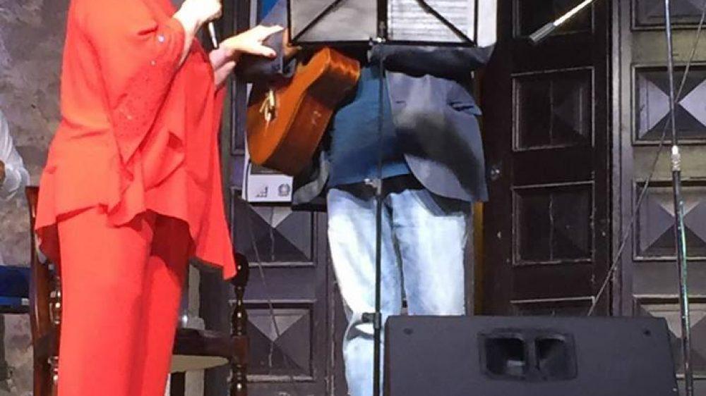 """Katia RICCIARELLI ed Espedito De Marino alla Reggia di Quisisana """"In…Canto Napoletano"""""""