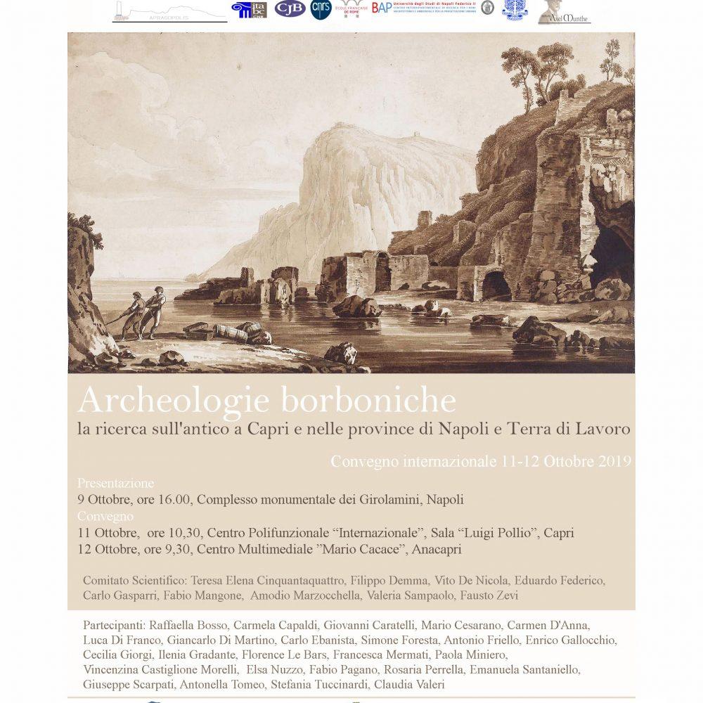 Archeologie borboniche La ricerca sull'antico a Capri e nelle province di Napoli e Terra di Lavoro