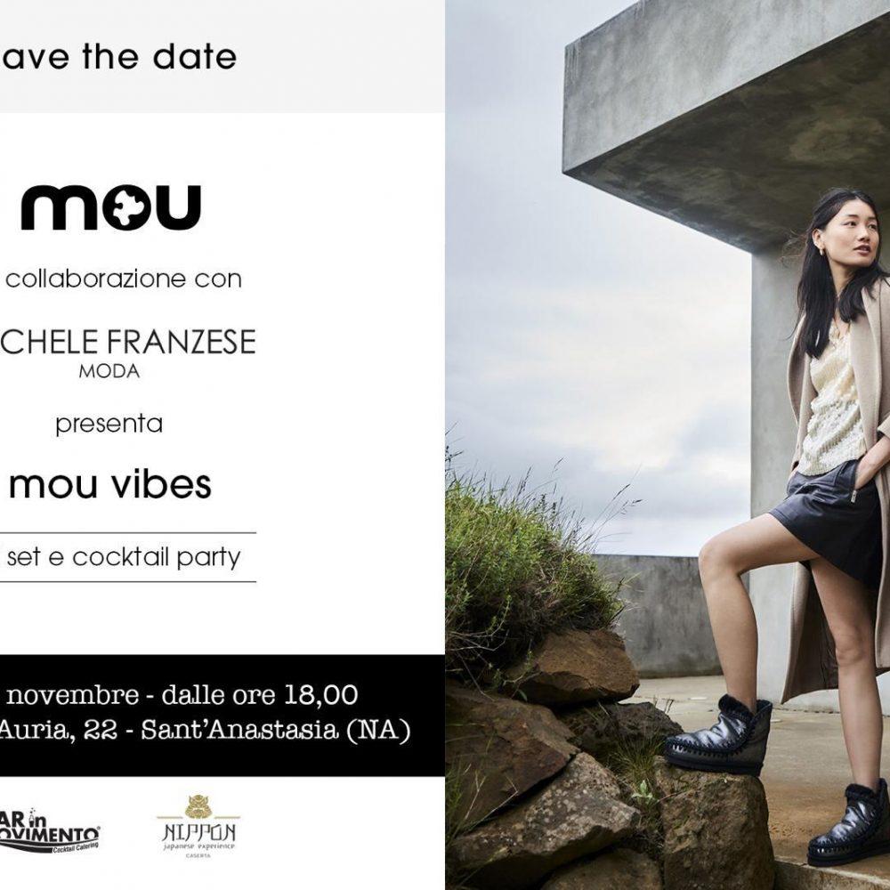 """Grande attesa per la presentazione di """"Mou Vibes"""" di MICHELE FRANZESE MODA"""