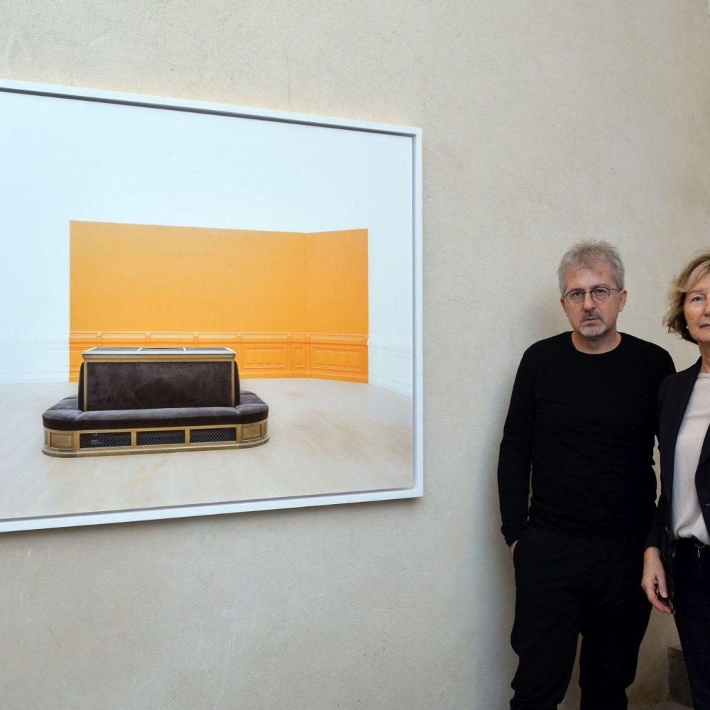 Il Vernissage di PLENUM, la personale di Luca Gilli al Maschio Angioino