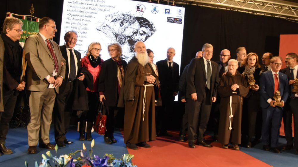 """Grande successo anche per la XIX edizione del Premio Internazionale """"Padre Pio da Pietrelcina"""""""