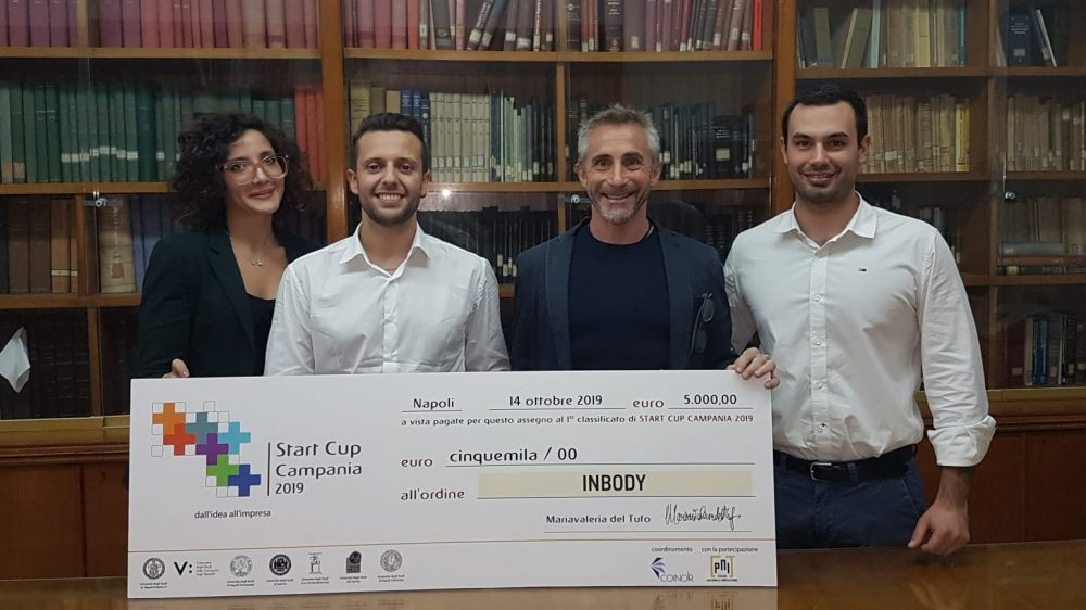 INBODY-Instant Body Scanner vincitore di Start Cup Campania 2019