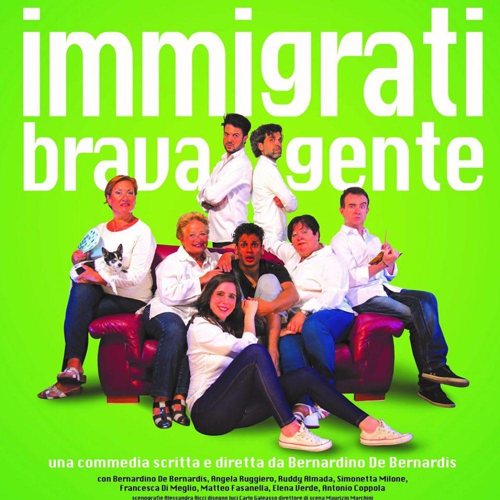 """Grande attesa per lo spettacolo """"Immigrati brava gente"""" che andrà in scena al Teatro Bolivar"""