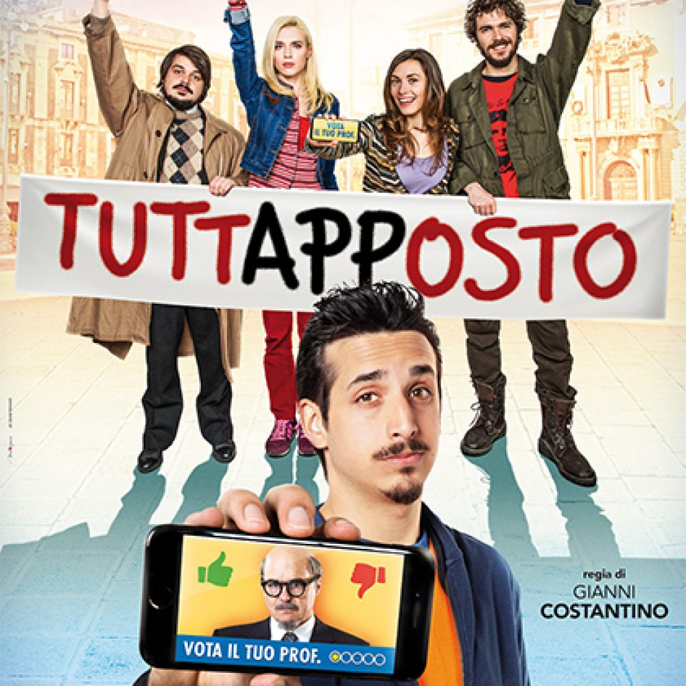 Il regista e il cast del film 'Tuttapposto' al Duel Village   In sala Roberto Lipari, Gianni Costantino e Francesco Russo