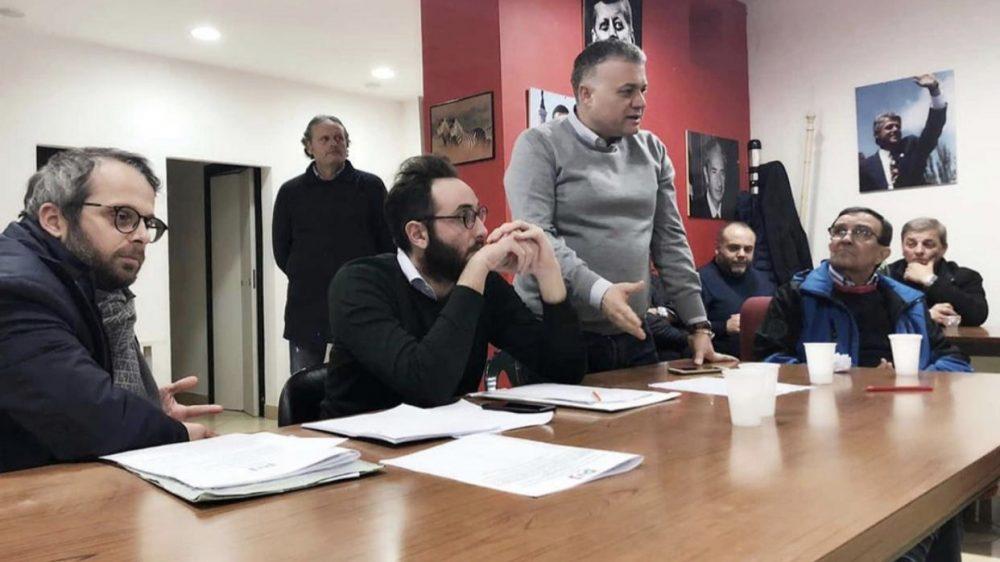 Francesco Russo, eletto segretario della sezione del Pd di Frattamaggiore