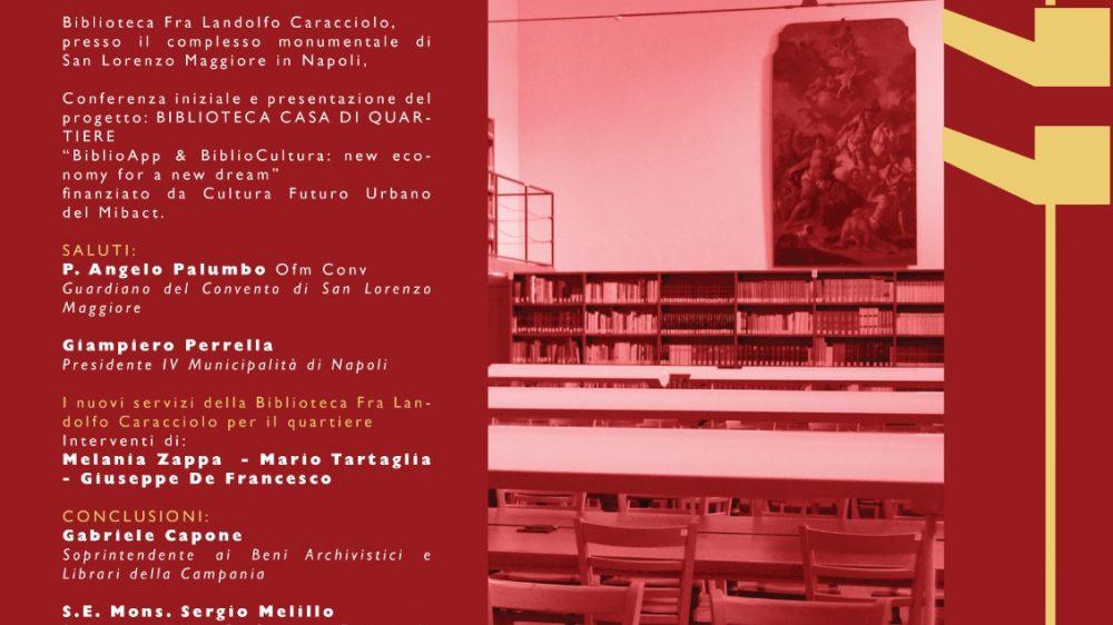 """Tutto pronto per l'iniziativa """"Biblioteca Casa Quartiere"""""""