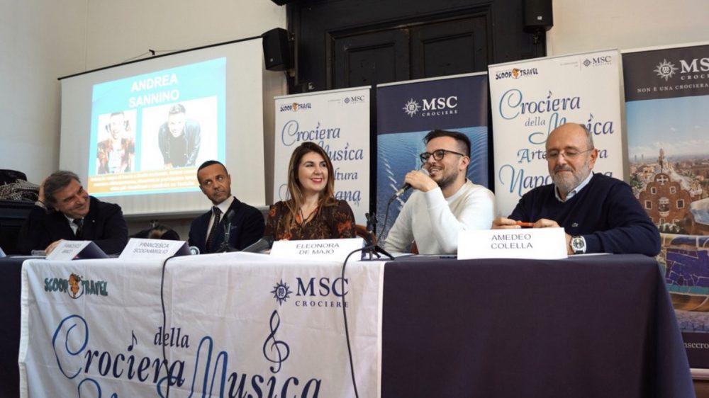 Tredicesima Crociera della Musica Napoletana Dal 5 al 12 ottobre 2020 a bordo di MSC Grandiosa