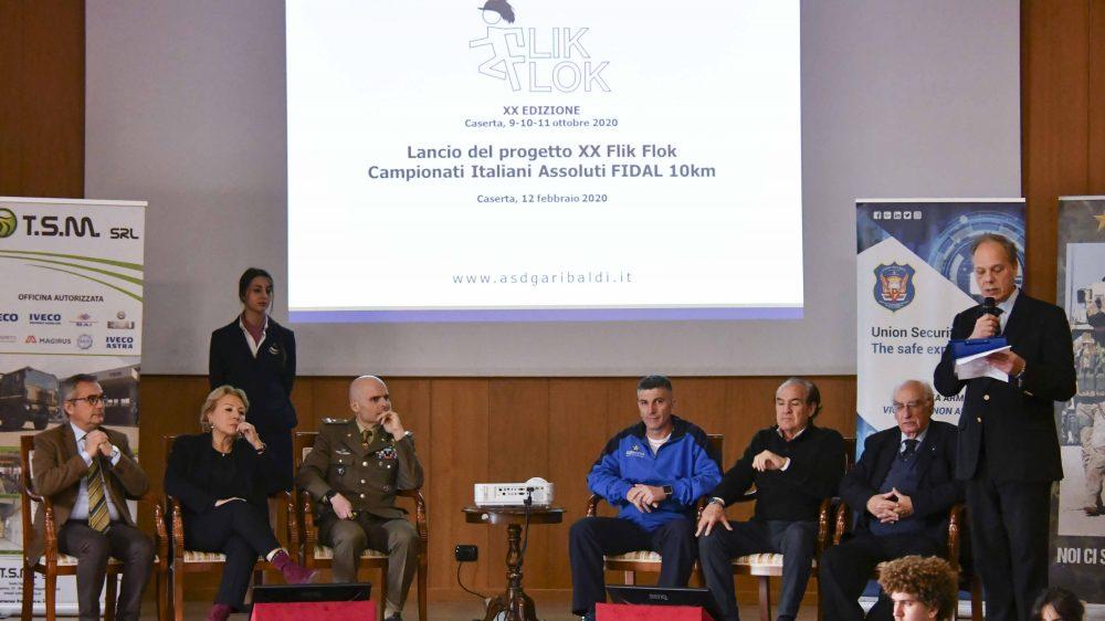 """Alla Caserma """"Ferrari Orsi"""" ha preso il via il progetto """"XX Flik Flok Campionati Italiani Assoluti Fidal 10 km"""""""