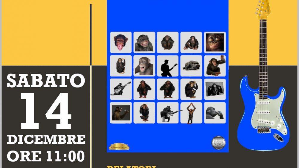 Prima presentazione del libro Io e la mia scimmia di William Silvestri Argento Vivo Edizioni