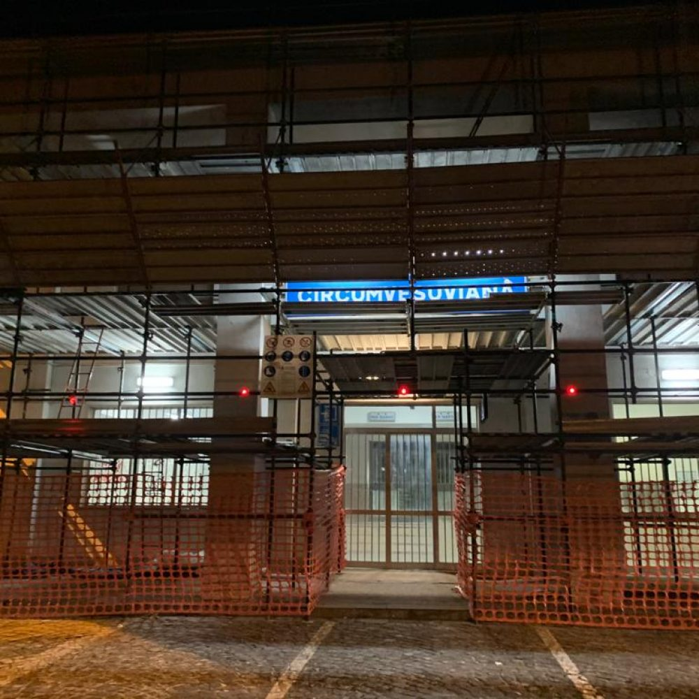 LONGOBARDI: SANT'ANASTASIA, PROMESSA MANTENUTA. AL VIA LAVORI STAZIONE CIRCUMVESUVIANA