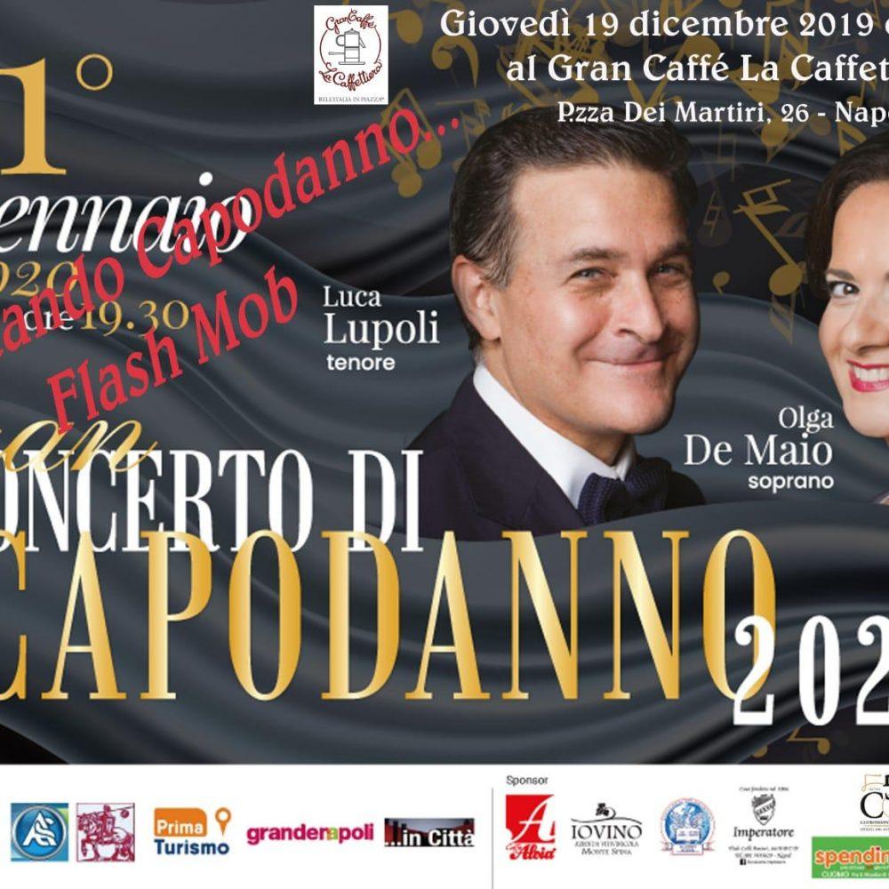 Napoli si prepara al flash mob aspettando il Concerto di Capodanno 2020