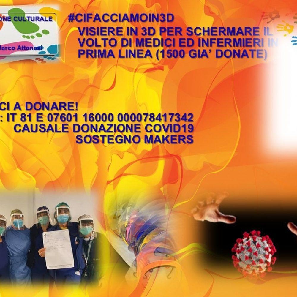#CIFACCIAMOIN3D. DA SOLETO A MILANO: UN SEGNALE DI SPERANZA PER L'ITALIA