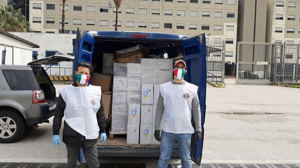 Solid Onlus – Carcere di Napoli Secondigliano. Donazione mascherine e materiale detergente
