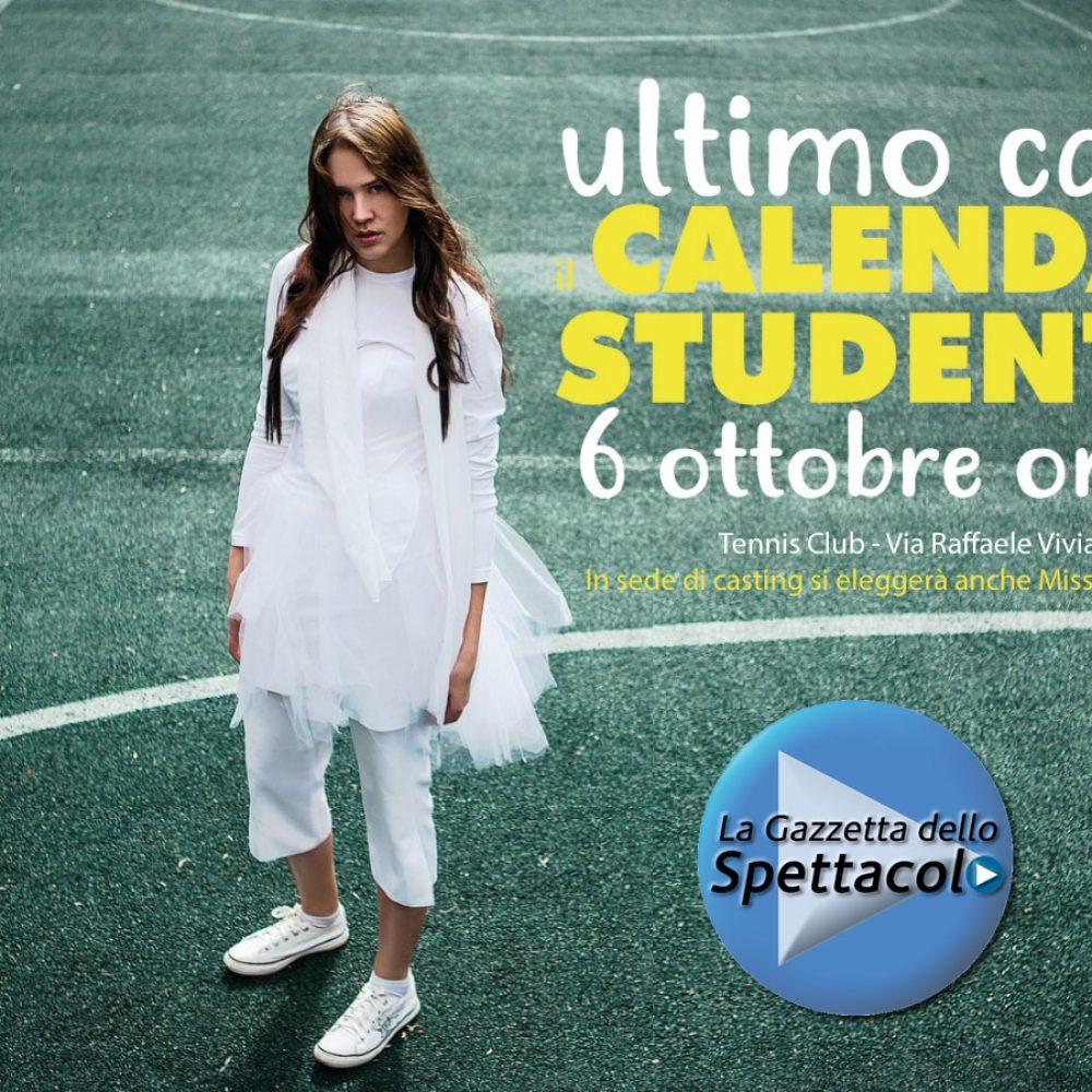 ULTIMA CHIAMATA AL CASTING PER IL CALENDARIO DELLE STUDENTESSE 2021