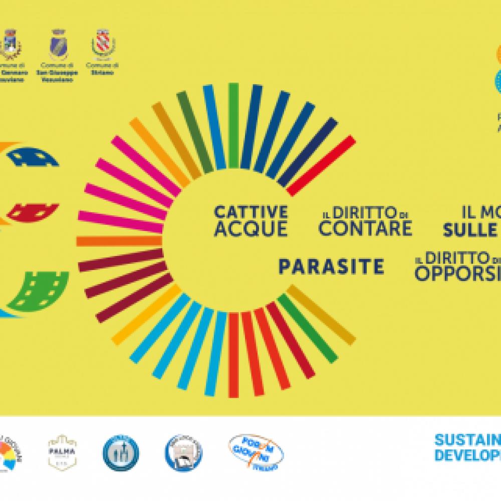 Associazioni nei territori dei Comuni dell'U.C.S.A. organizzano proiezioni di film per l'ambiente e per l'Agenda ONU 2030 con gli SDGs.
