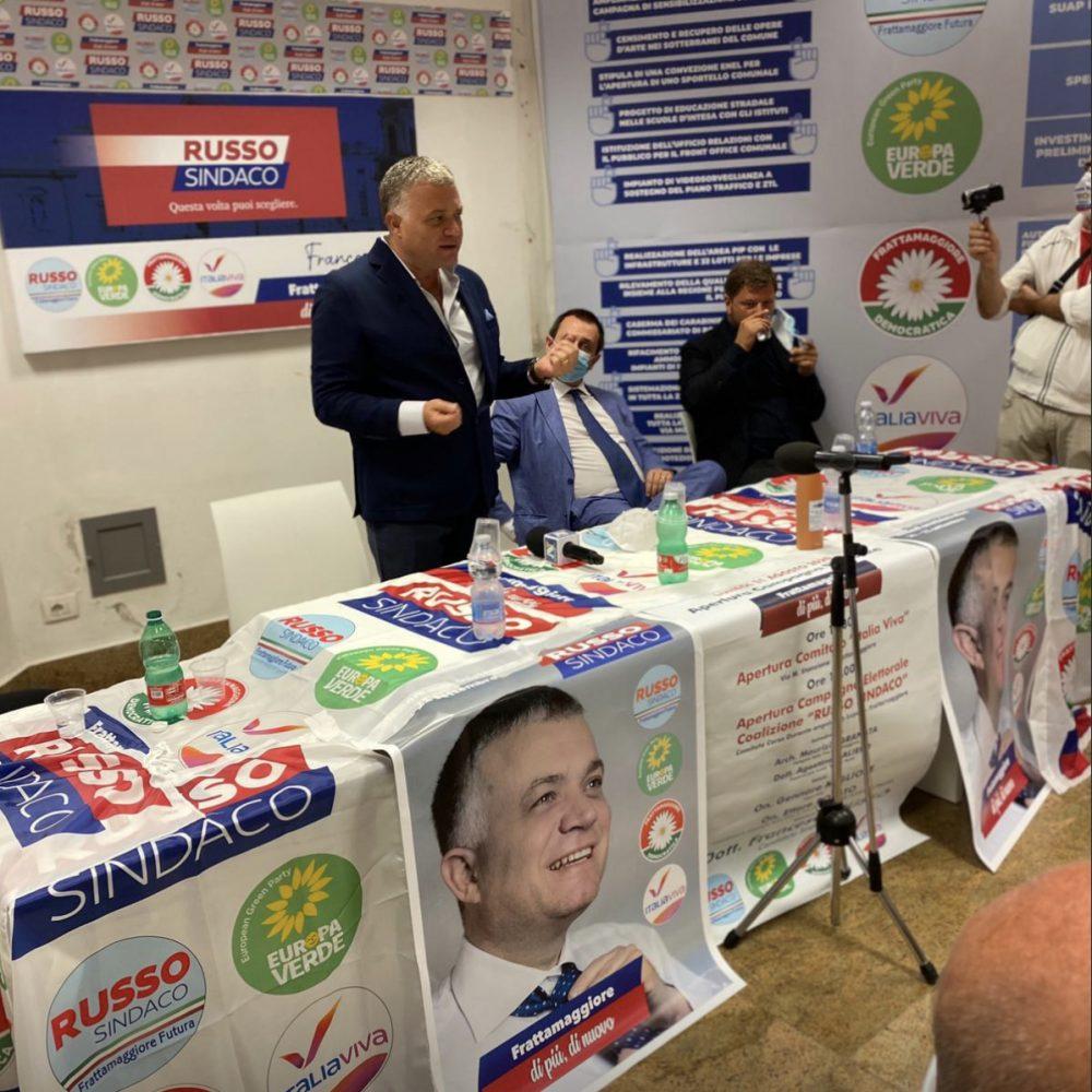 Inaugurata la nuova sede elettorale di Francesco Russo