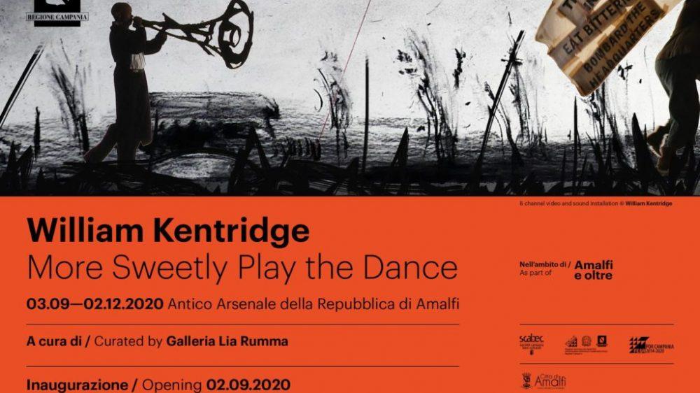 WILLIAM KENTRIDGE. MORE SWEETLY PLAY THE DANCE