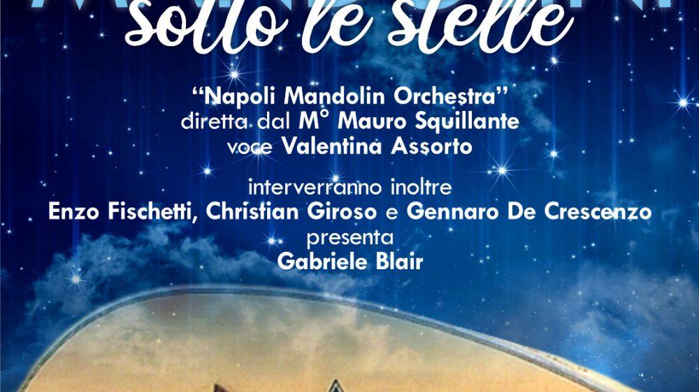 """A Cardito il più atteso evento dell'estate """"Mandolini sotto le Stelle"""" Venerdì 7 agosto alle ore 21:00 a Palazzo Mastrilli il gran Galà musicale"""