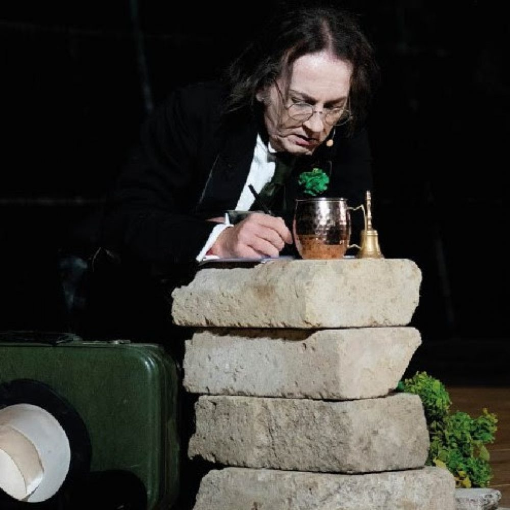 L'associazione culturale Ortenzia T. presenta  la Ballata del carcere di Reading diretto e interpretato da Roberto Azzurro   al pianoforte Matteo Cocca