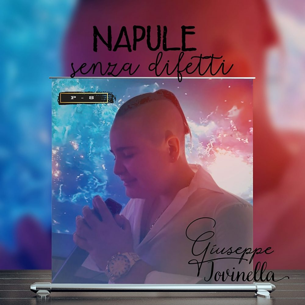 """E' online """"Napule senza difetti'"""", il primo singolo ufficiale di Giuseppe Pio Iovinella in arte P-8"""