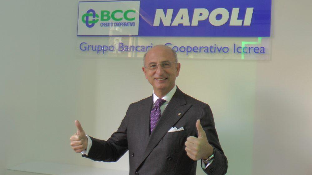 """LA BANCA DI CREDITO COOPERATIVO DI NAPOLI A SOSTEGNO DELL' ASSOCIAZIONE """"LE BOTTEGHE DI SAN GREGORIO ARMENO"""""""