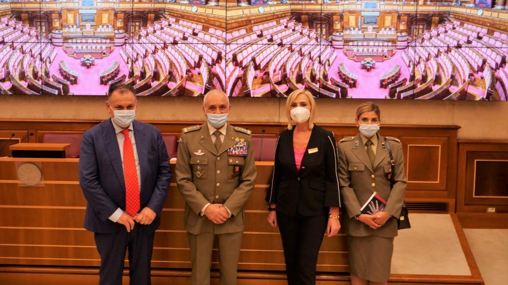 """Al Senato della Repubblica, nella sala Nassirya si è tenuta la conferenza stampa di presentazione del manuale """"La violenza di genere dalla A alla Z"""""""