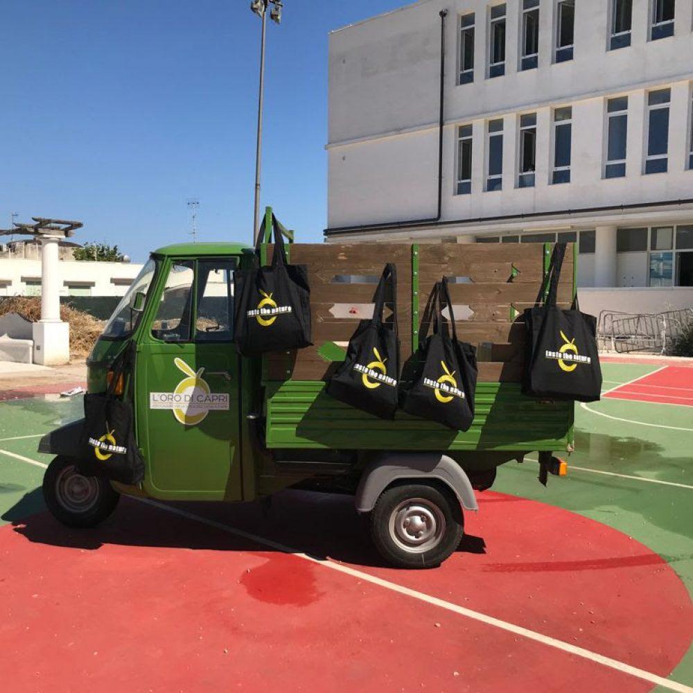 L'Oro di Capri entra in campo per educare alla sostenibilità e alla tutela del paesaggio con gli allievi dell'Istituto Gemito di Anacapri
