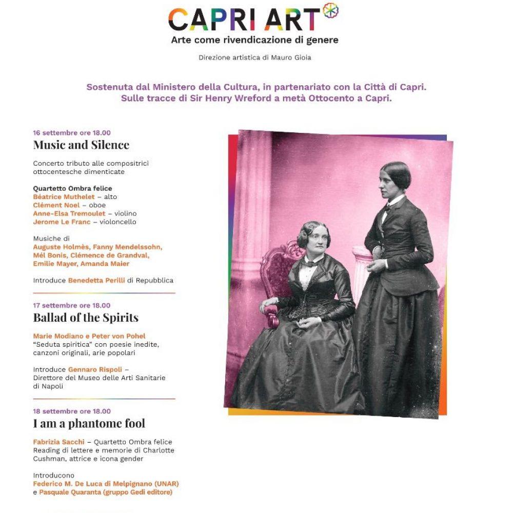 Capri Art* – Arte come rivendicazione di genere.